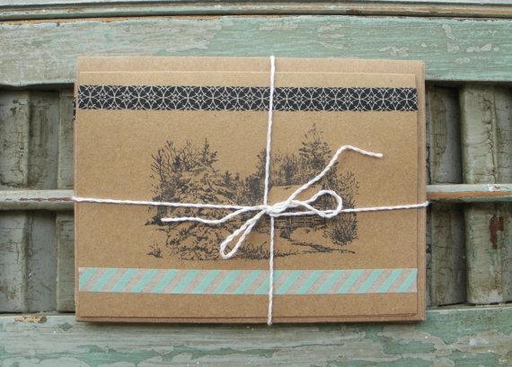 Eco design X-mas & easter cards